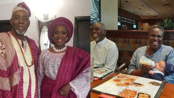Veteran Joke Silva and her husband,Olu Jacobs celebrates 35th year wedding Anniversary(photos)