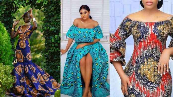 Latest Adorable and Eye popping Ankara Gown styles for all occasion