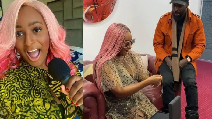Dj cuppy goes shopping ahead of her birthday,treats herself to an expensive jewelry(video)