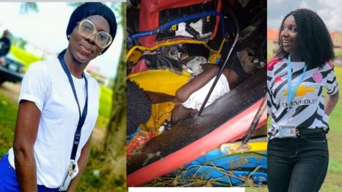 Two Final year student crushed to Death on their way to their Graduation party(photos)