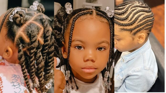Latest cute Hairstyles for kids