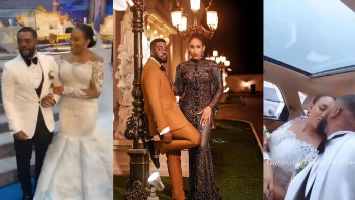 William Uchemba officially walks down the aisle with His Bride(video)