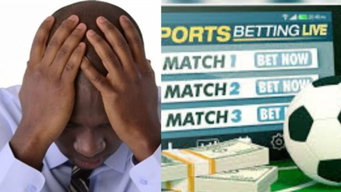 Young man begs for help after he gambles his father's 100k on sport bet and lost.(photos)