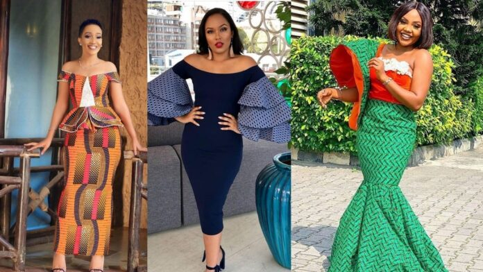 Latest Chicky and Elegant Ankara styles for Ladies
