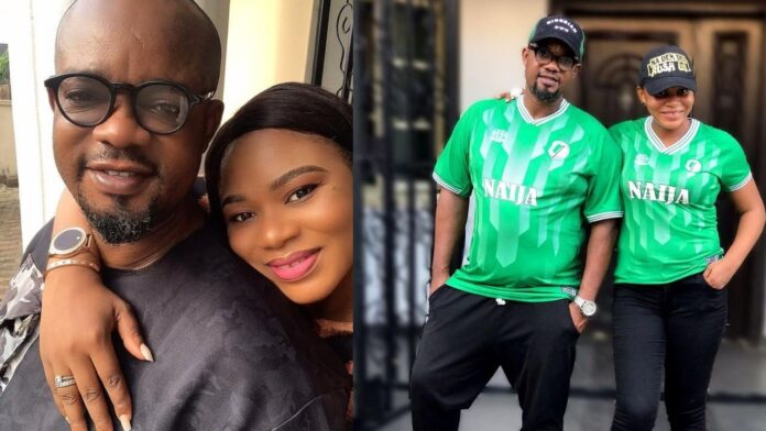 Actor,Charles Inojie celebrate 8th year wedding Anniversary with His wife(photos)