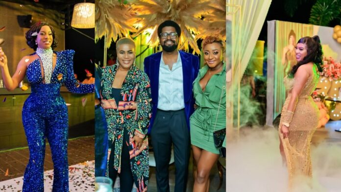 Actress Chike Ike celebrates 35th Birthday In Grand Styles(video)