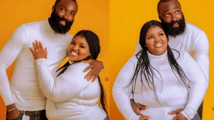 """""""It won't have been possible without God"""" – Plus Size lady states as she shares her pre-wedding photos"""