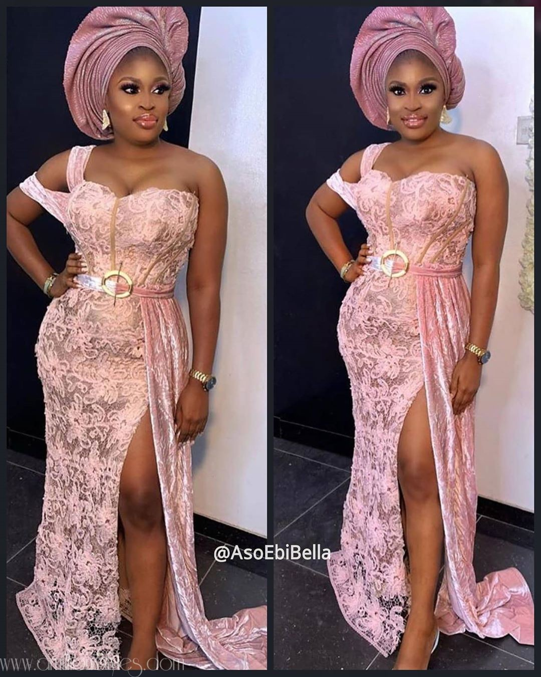 Latest Nigerian Lace Styles and Designs-Volume 35