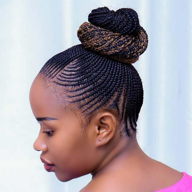 Most Beautiful Cornrow Braids That Turn Heads