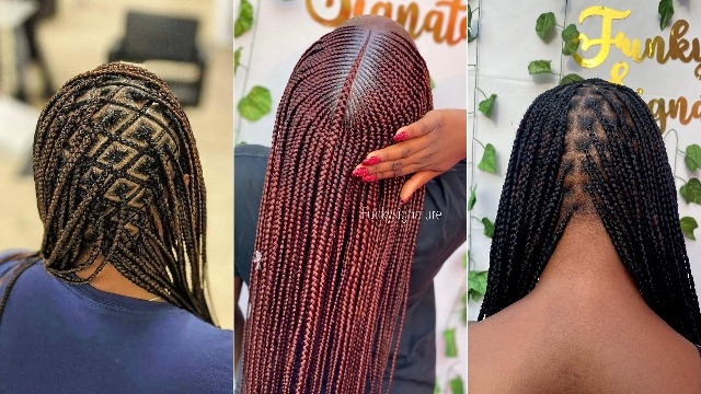 2021 Latest African Braid Styles Beautiful Braid Styles