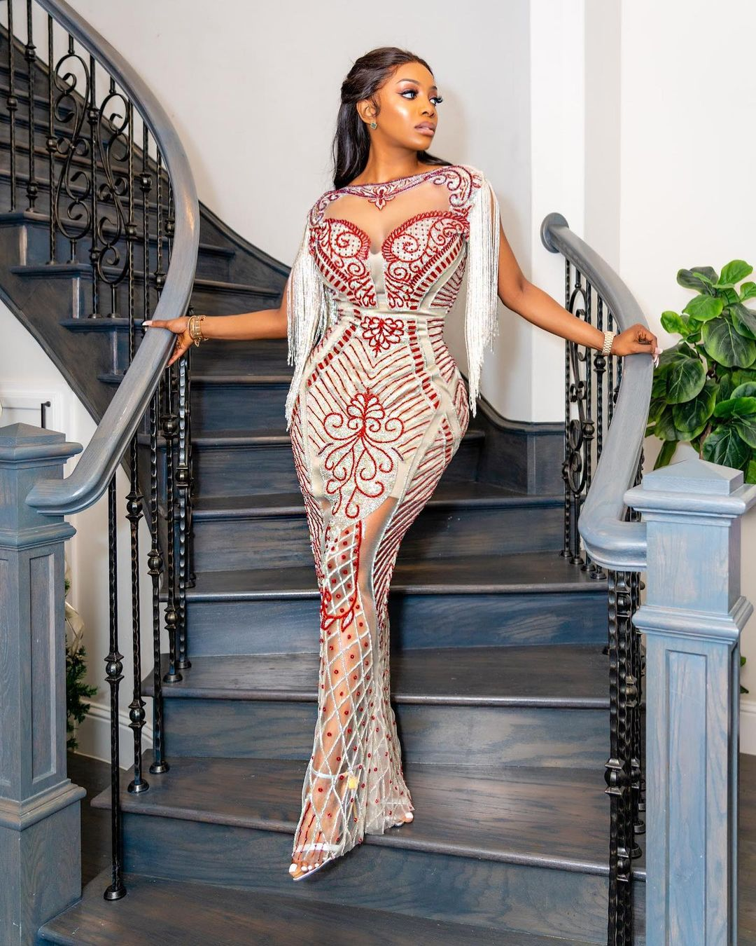Chioma Looking Beautiful And Elegant