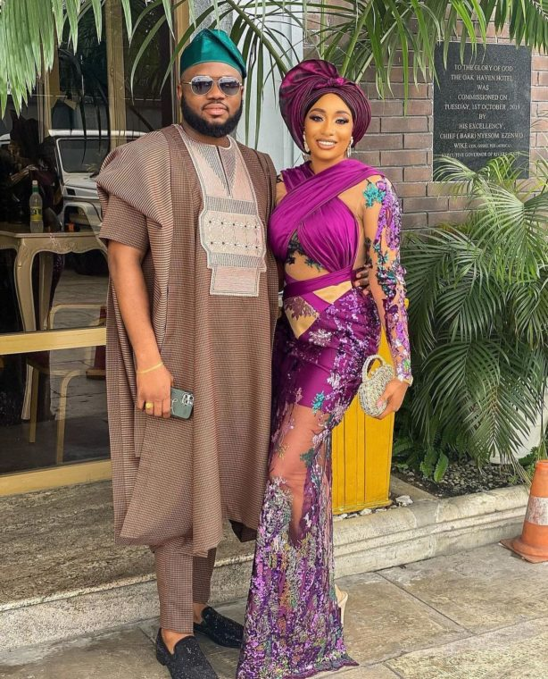 10 PICTURES: Ankara Styles For Couples And Pre-Wedding Photoshoots ankara styles for couples - 10 PICTURES: Ankara Styles For Couples And Pre-Wedding Photoshoots