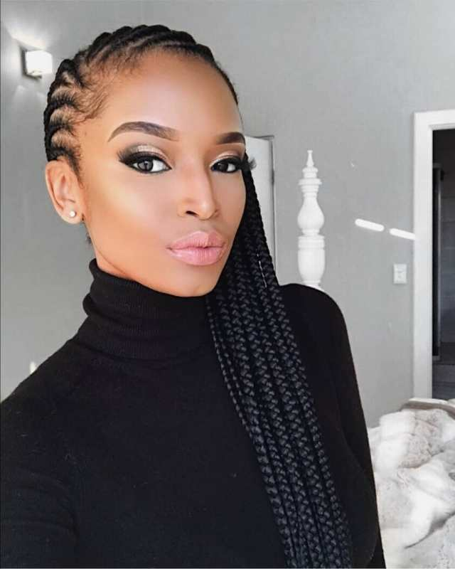 2021 Latest African Braid Styles: Beautiful Braid Styles