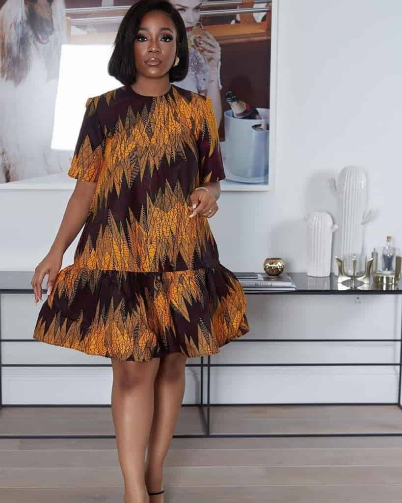 PHOTOS Cute Ankara Dress Styles For Ladies (Simple Vibes) - Latest African Dresses 2021