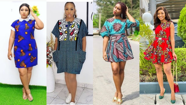 2021 Short Ankara Styles for ladies: Trendy Dresses to slay