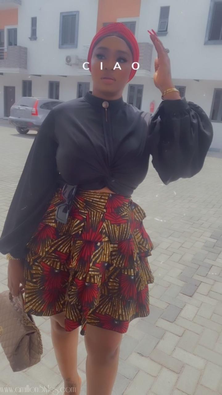 8 Spicy Ankara Skirts That Are Just Perfect!