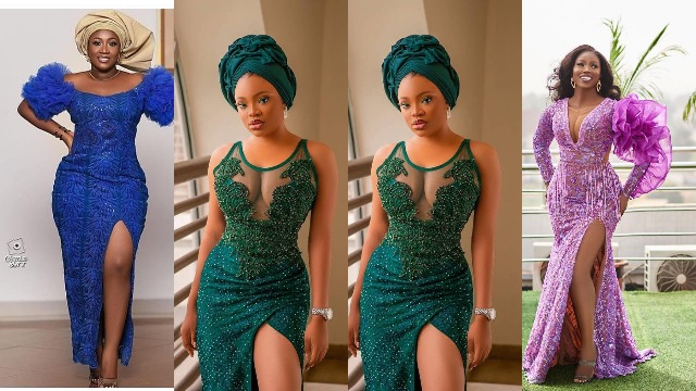 Latest Owambe Lace Styles 2021