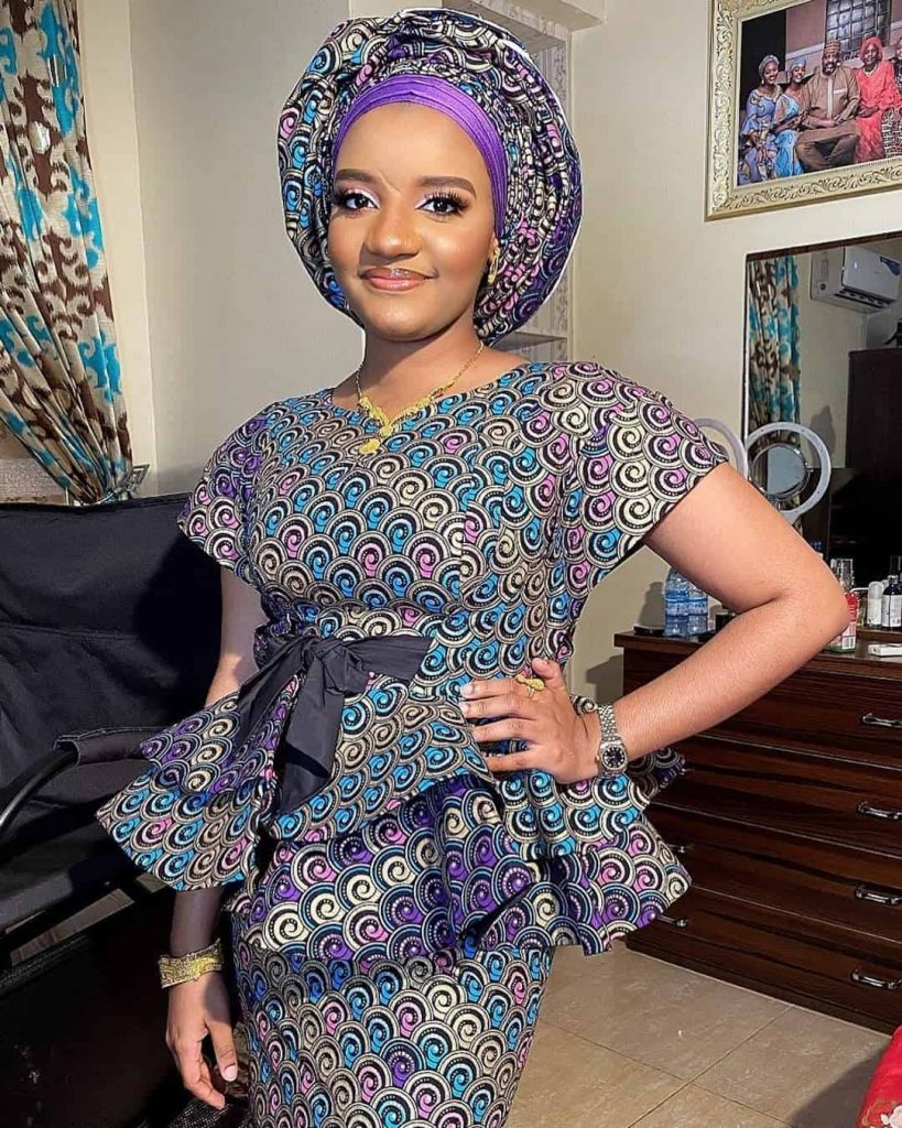 PHOTOS Aesthetically Pleasing Ankara Skirt And Blouse Styles For Ladies 2021