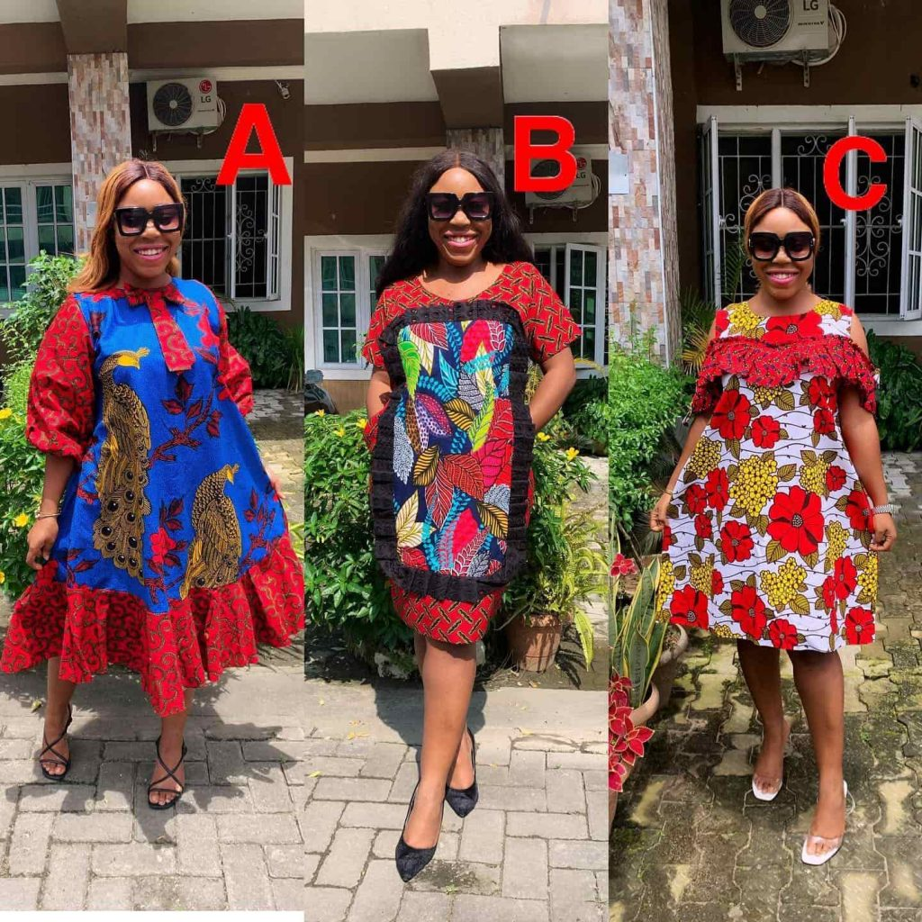 PHOTOS Lovely African Dress Styles - Flawless Ankara Designs For Pretty Ladies 2021