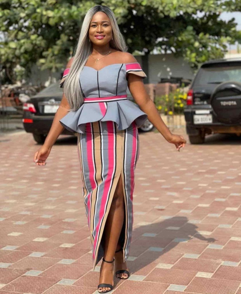 PHOTOS Nice-Looking Ankara Skirt And Blouse Designs For Ladies - New African Dress Styles