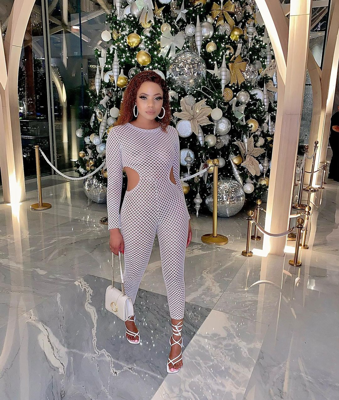 Sino Booi Keeps The Drip In With Classy White
