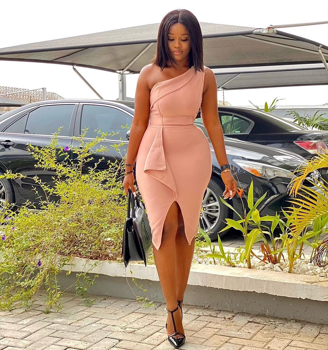 Cynthia Nwadiora Look Dashing In Sleek Party Dress