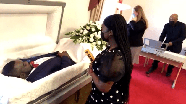 Tears flow as music executive, Dokta Frabz, is laid to rest in the US (photos)