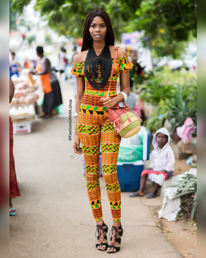 Stunning Ghanaian Model Shows Us How To Celebrate #WearGhanaMonth