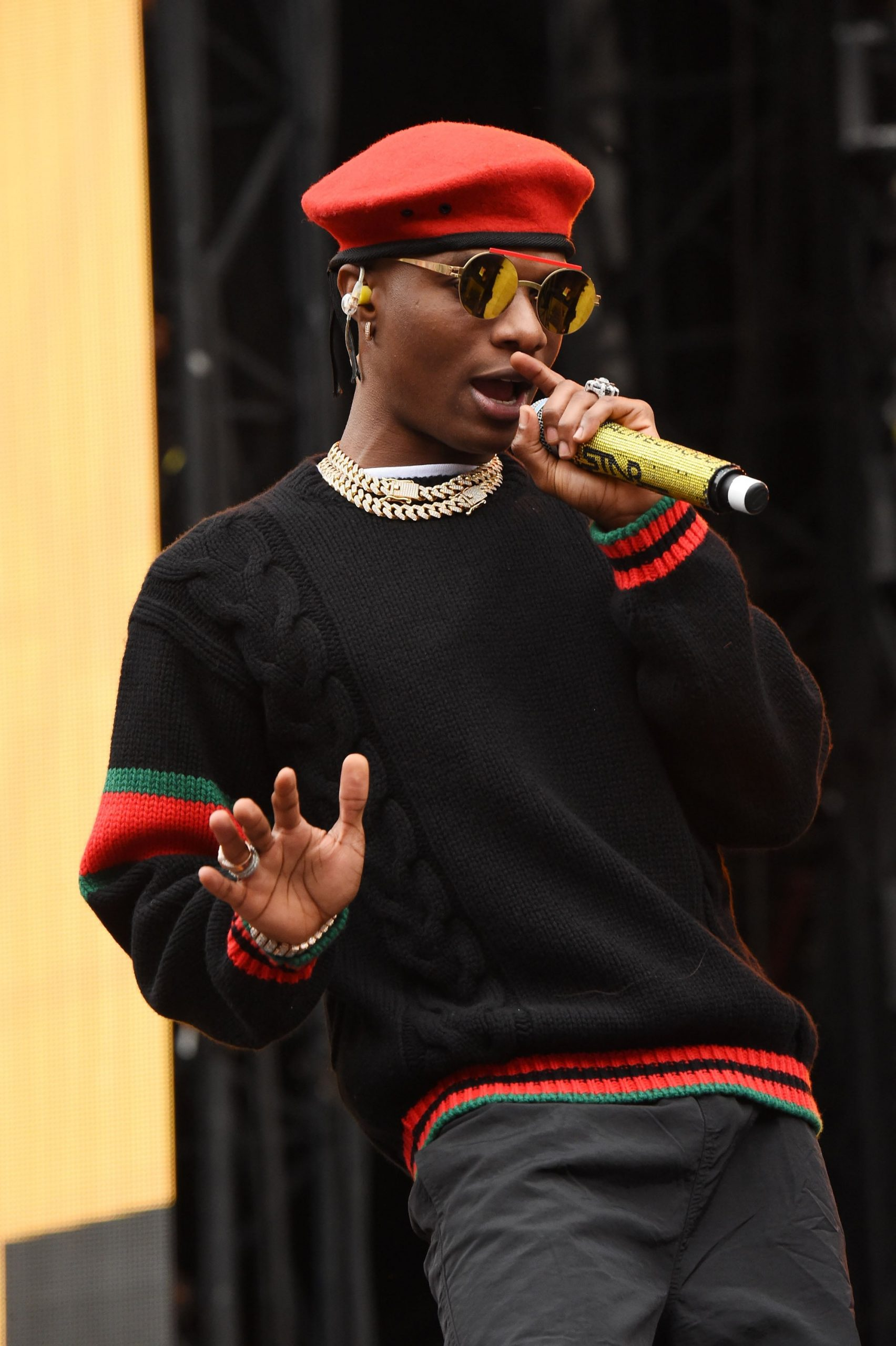 Why I Can Never Make Political Music -Wizkid