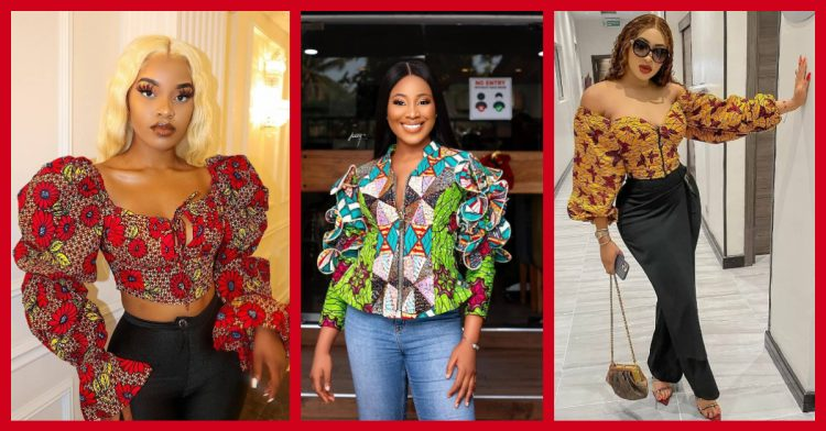 Can We Tempt You With These 7 Stunning Ankara Tops?