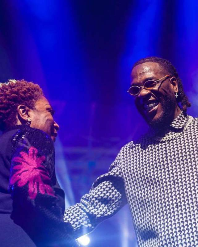"""Best Mother's Day gift ever"" - Burna Boy's mother says in celebration of her son's Grammy (Video)"