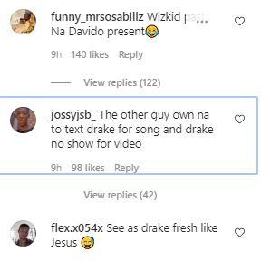 """O.B.O did all, your favorite can't!"" - Reactions as Davido links up with Drake (Video)"