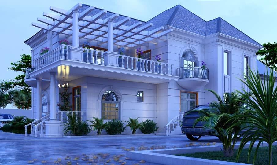 """""""God will embarrass you with surprises"""" - Biodun Okeowo teases fans with new house"""