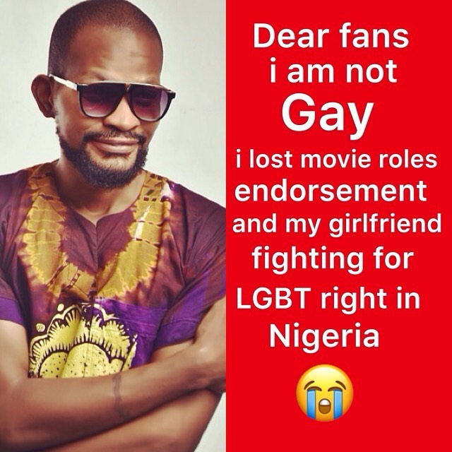 Uche Maduagwu laments as girlfriend dumps him over his sexuality