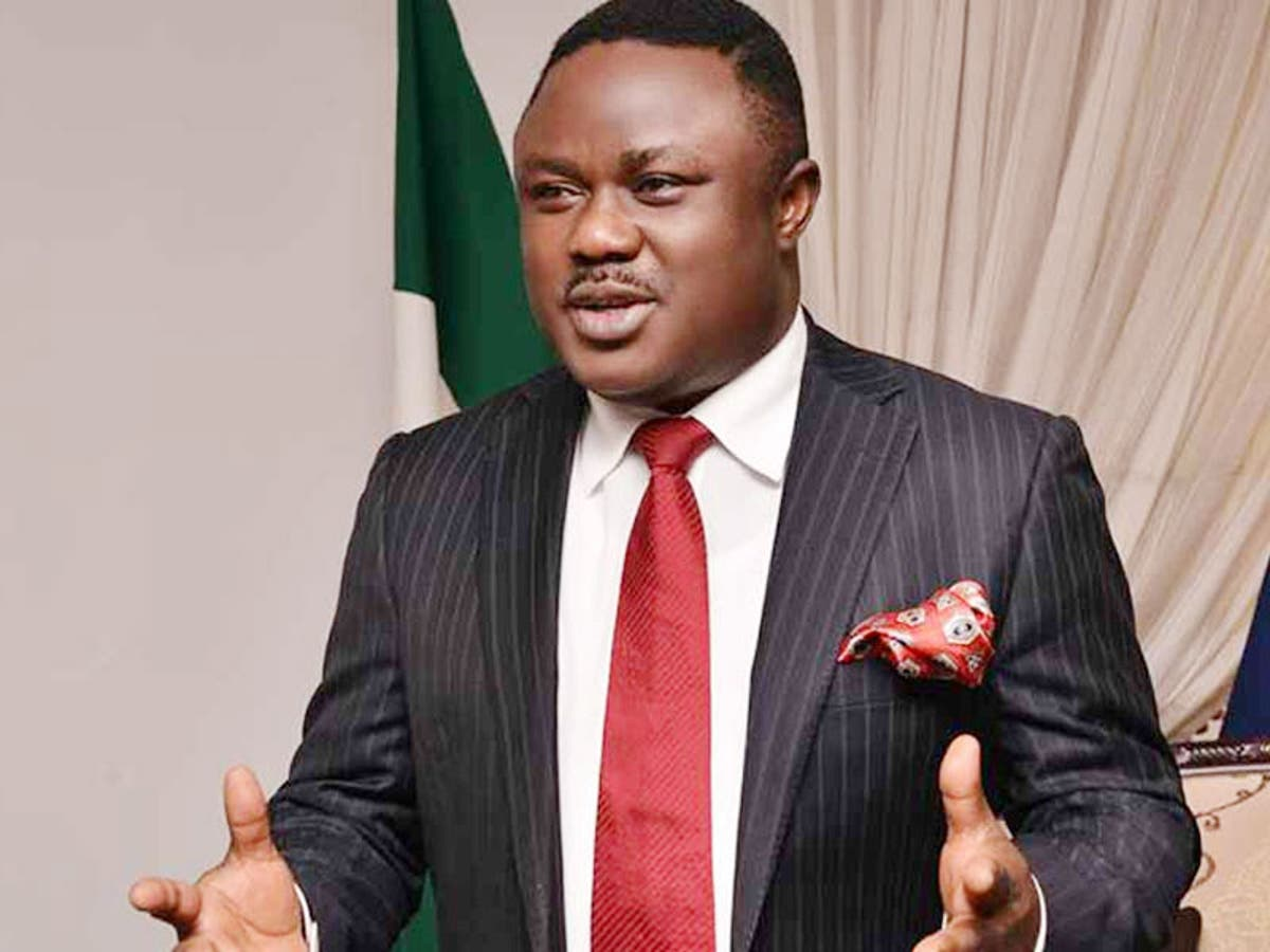 Governor Cross River State Ben Ayade Tattoo Lady