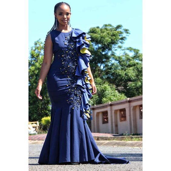 IMAGES: Super Creative African Wedding Fashion Wears.