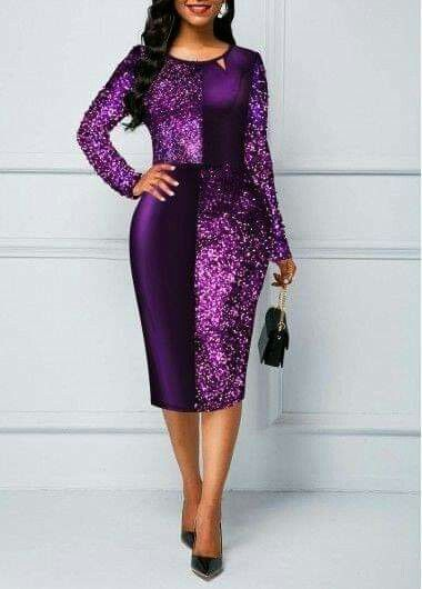 IMAGES: Beautiful Ladies Office Fashion Dresses You'll love.
