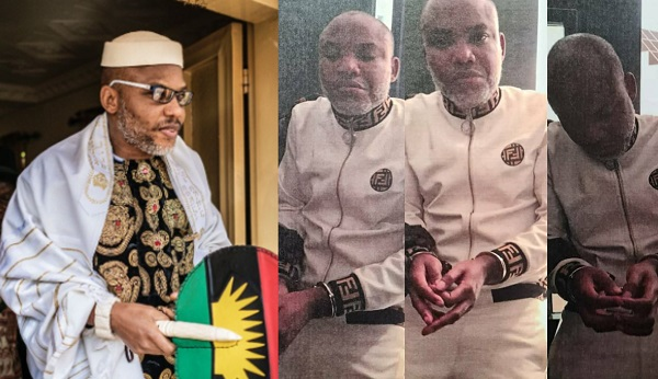 IPOB Leader, Nnamdi Kanu Arrested And Brought Back To Nigeria To Face Trial