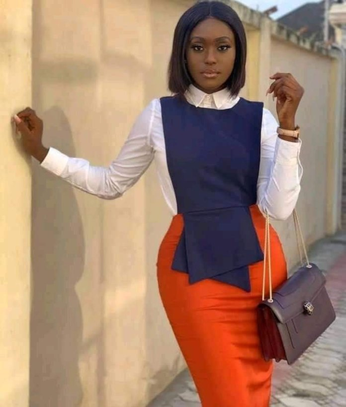 Stylish, Lovely and Fashionable Office, School and Church Wear For Ladies - Latest Fashion Styles
