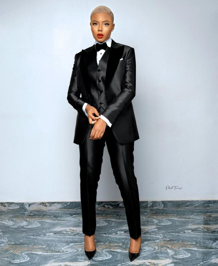 Nancy Isime- Looking Formal And Classy