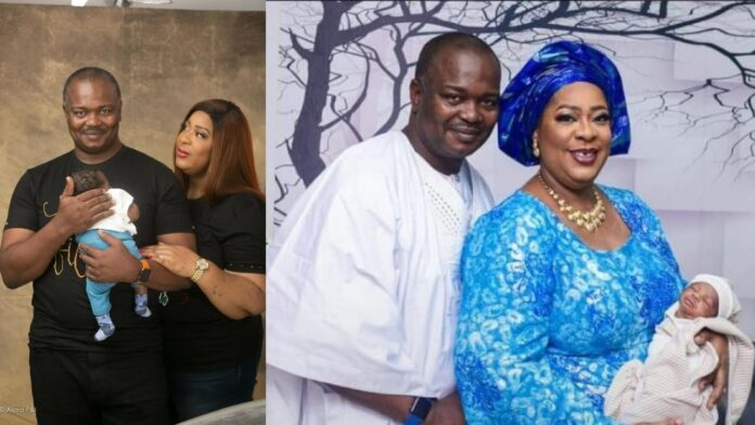 Nigerian woman finds love at 47, gets married at 48 and gives birth to a baby boy before her 50th birthday(photos)